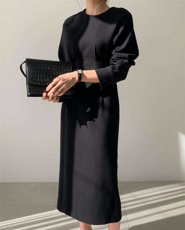 高級でセクシーなドレス 気質 百掛け スプリット エレガント タイトスカート ロングスカート スリム