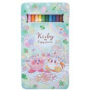 【鉛筆】星のカービィ 缶入り 12色 いろえんぴつ エンジョイピクニック