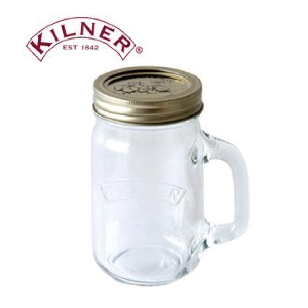 キルナーKILNERハンドルジャーダブルキャップ 0.4L 箱/ケース売 24入