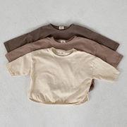 【KID】キッズ服 韓国風 tシャツ 子供服 シンプル