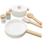 木製ままごと 鍋&フライパン セット クッキングセット