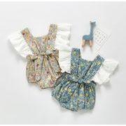 2021新品★ロンパース★子供服★ベビー向け★ベビー服★連体服★可愛い★花柄★2色★66-100CM