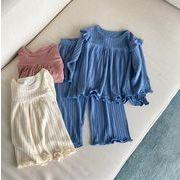 2021春 1~5歳 超快適なパジャマセット 子供服 部屋着  ゆったり 女の子 ホームウェア パジャマ