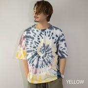 【2021新作】 Tシャツ メンズ 半袖 タイダイ染め ビッグシルエット タイダイTシャツ ビッグT オーバーT