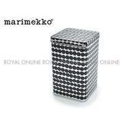 S) 【マリメッコ】 雑貨 70066-990 ボックス缶 TIN BOX キッチン 食卓 雑貨 ラシィマットグレー/ブラック