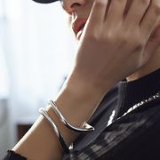 【Nothing And Others/ナッシングアンドアザーズ】Double line bangle