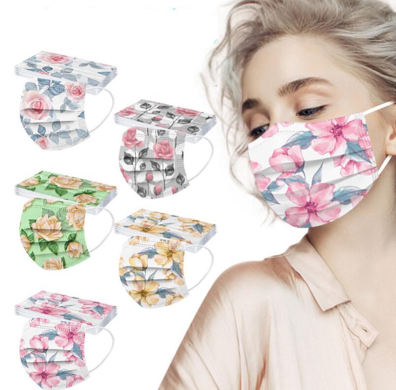 不織布マスク 大人マスク 男女兼用マスク  使い捨てマスク3層保護 春夏マスク