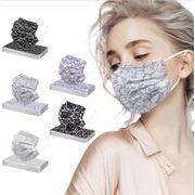 不織布マスク 大人子供マスク 男女兼用マスク  親子使い捨てマスク3層保護 春夏マスク
