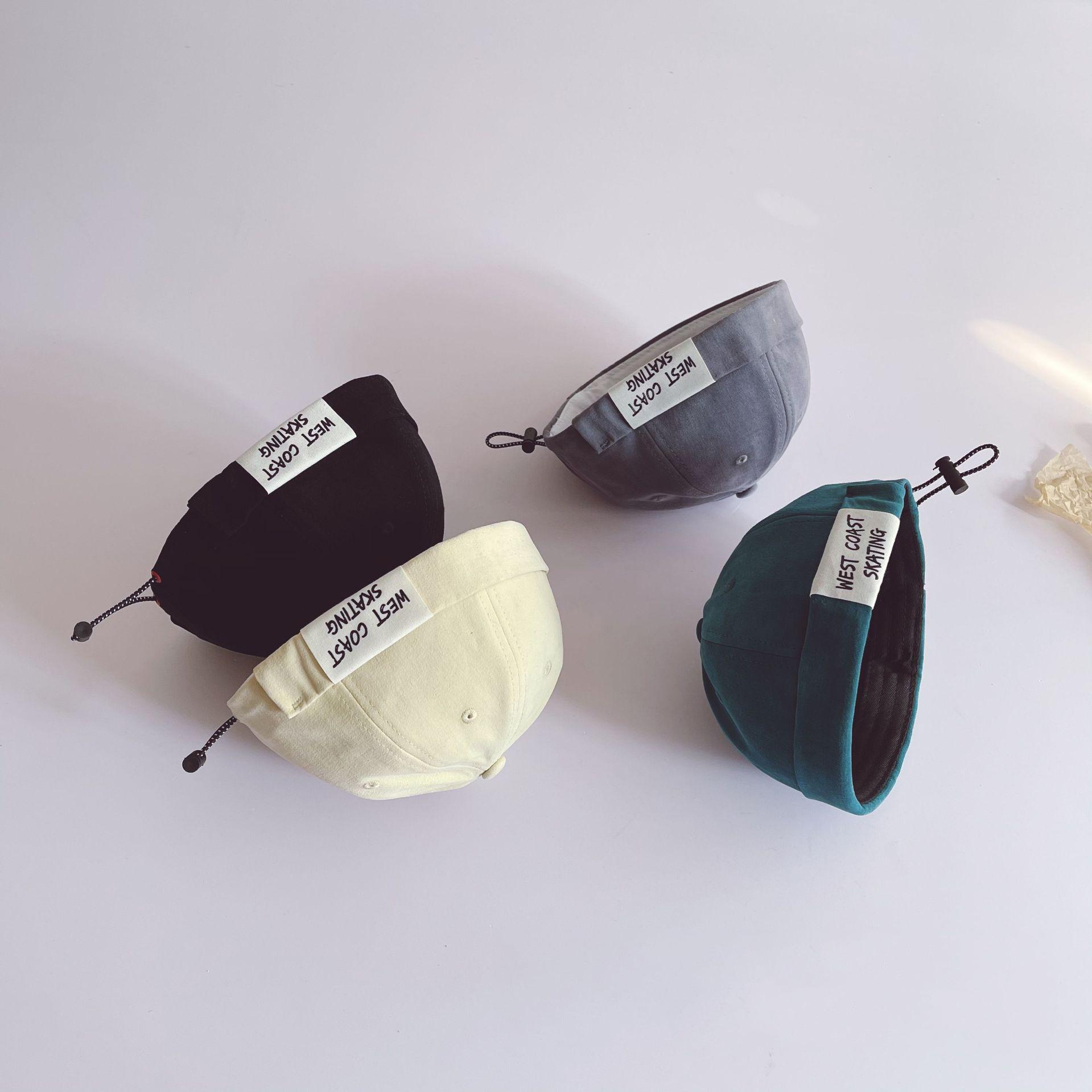 春夏新作 子供 メロンキャップ キッズ帽子 男女兼用 日よけキャップ  UV保護 おしゃれ