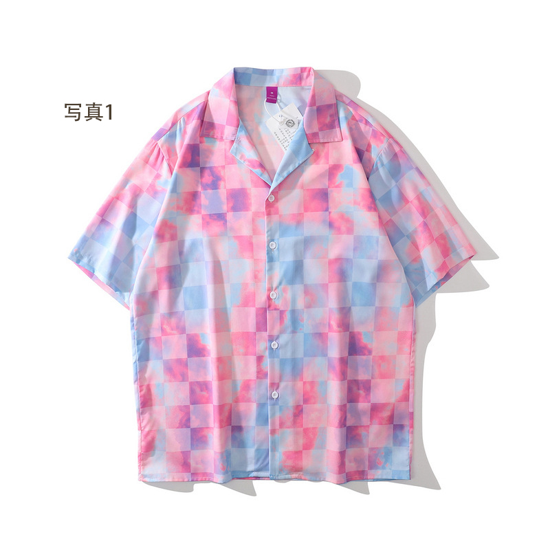 P10159 日焼け止め メンズファッション 渋谷風 半袖シャツ 男女兼用 SALE 半袖 ファッション 紫外線対策