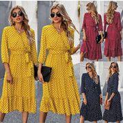 大人のキレイを求めて レディースファッション 春夏 人気商品 シンプル ワンピース スカート