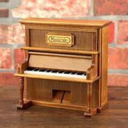 ミニチュアピアノのオルゴール アンティーク ヴィンテージ インテリア 置物 ZCLB433