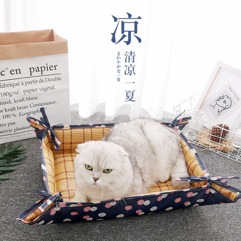 ペット用品 涼しい席 い草シート 猫 犬 ペット用品 ネコ ベッド 室内 暑さ対策