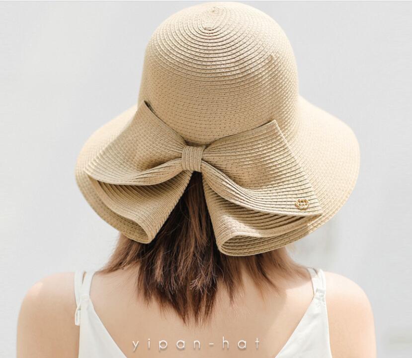 ハット 草編み帽子 2021夏新作 サファリハット レディース帽子 日焼け止め 紫外線対策