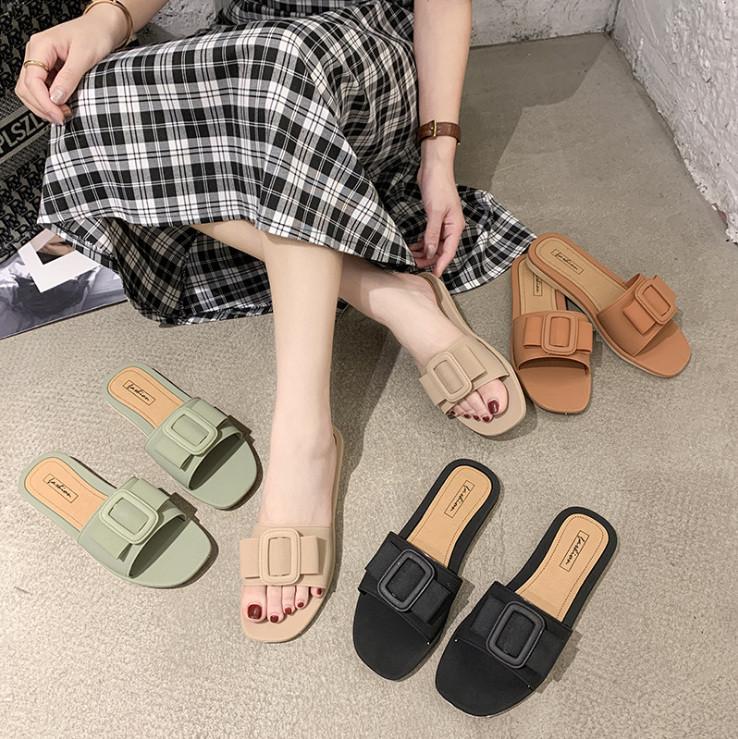 スリッパ 夏 カジュアル ファッション サンダル 韓国スタイル シューズ 靴 人気アイテム レディース