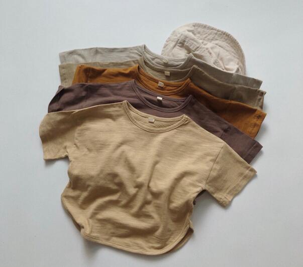 子供シャツ キッズ服 夏 ブラウス 半袖 トップス 女の子 男の子 tシャツ カジュアル系