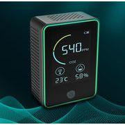 【納期5~7日】二酸化炭素濃度計 二酸化炭素計測器  多機能 CO2メーターモニター 空気質検知器
