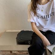 韓国 レディース Tシャツ 半袖 春夏 トップス プリントTシャツ