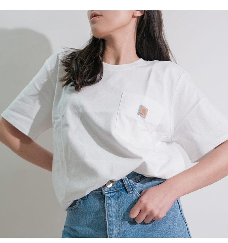 carhartt カーハート メンズ レディース T-Shirts  半袖 ポケットTシャツ