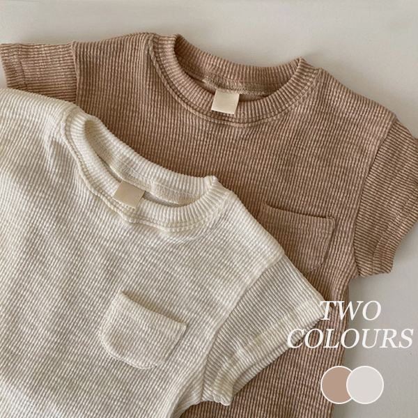 【KID】韓国風子供服 ベビー服 半袖ロンパース 半袖Tシャツ パンツ 無地