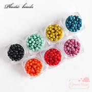 プラスチックビーズ 不透明カラー 全7色 5g  beads932