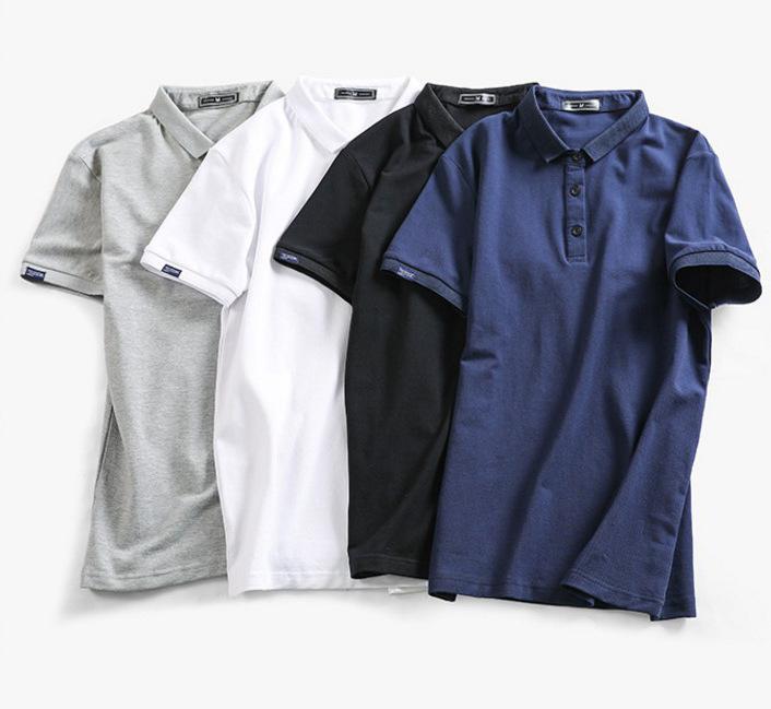 POLOシャツ メンズトップス Tシャツ   無地シャツ  カジュアル ゆったり