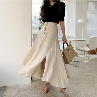 2021年春夏新作 レディース 韓国風 スカート ハイウェスト 気質 ファッション S-L