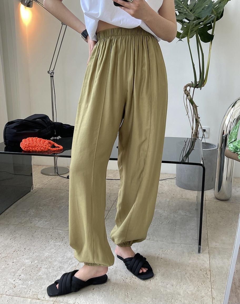 2021年春夏新作 レディース 韓国風 パンツ ゆったりする レジャー ファッション 3色フリー