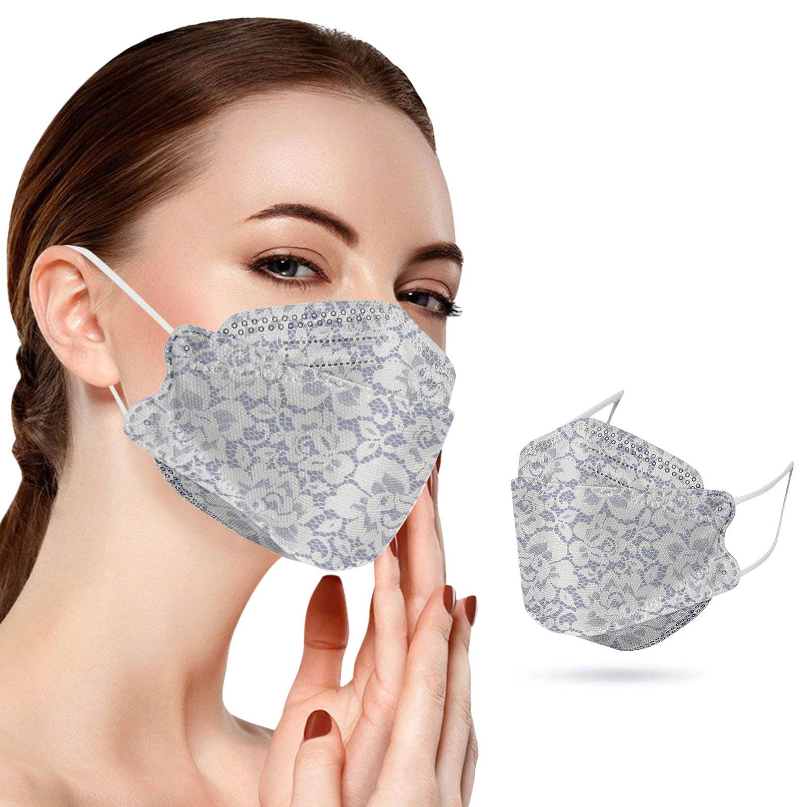 KF94不織布マスク 大人マスク 男女兼用マスク  使い捨てマスク3層保護 春夏通気性