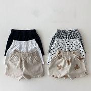 2021夏新作 幼児 緩いです カジュアル 通気性 薄いです 綿と麻 ショーツ 男の子 女の子 子供服