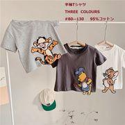 夏新作 人気  子供Tシャツ  男の子 女の子 トップス ブラウス 可愛い ファッション