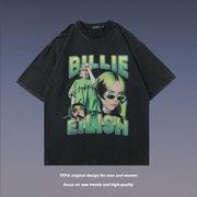 メンズファッション ヒップホップ風 半袖Tシャツ 男女兼用 ストリート系 トップス 2021新作 春夏★
