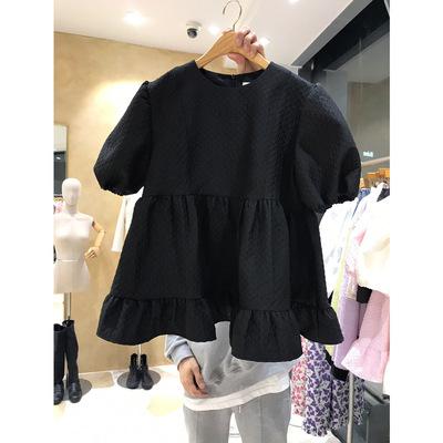 2021年春夏新作 レディース 韓国風 シャツ 大好き 通勤 気質 優しい ファッション 2色フリー
