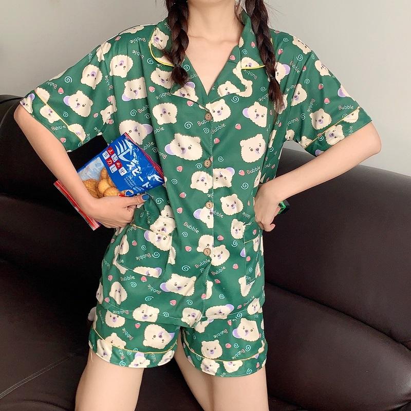 韓国 韓国ファッション カジュアル パジャマ ルームウェア 部屋着  6月28日の週 新作 レディース