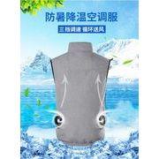 2021新作 夏用ワークマン 空調服 作業服 エアコン服 空調服セット 半袖 洗濯可 熱中症対策 紫外線対策