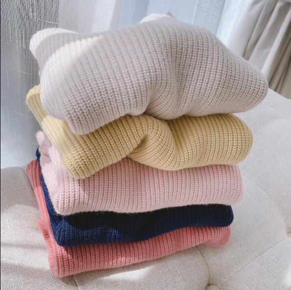 子供セーター 秋冬 新作 キッズ 韓国ファッション 子供服 73-130 5色 子供服 トップス ニット