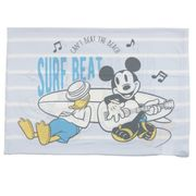 【枕】ミッキーマウス 冷感のびのびまくらカバー