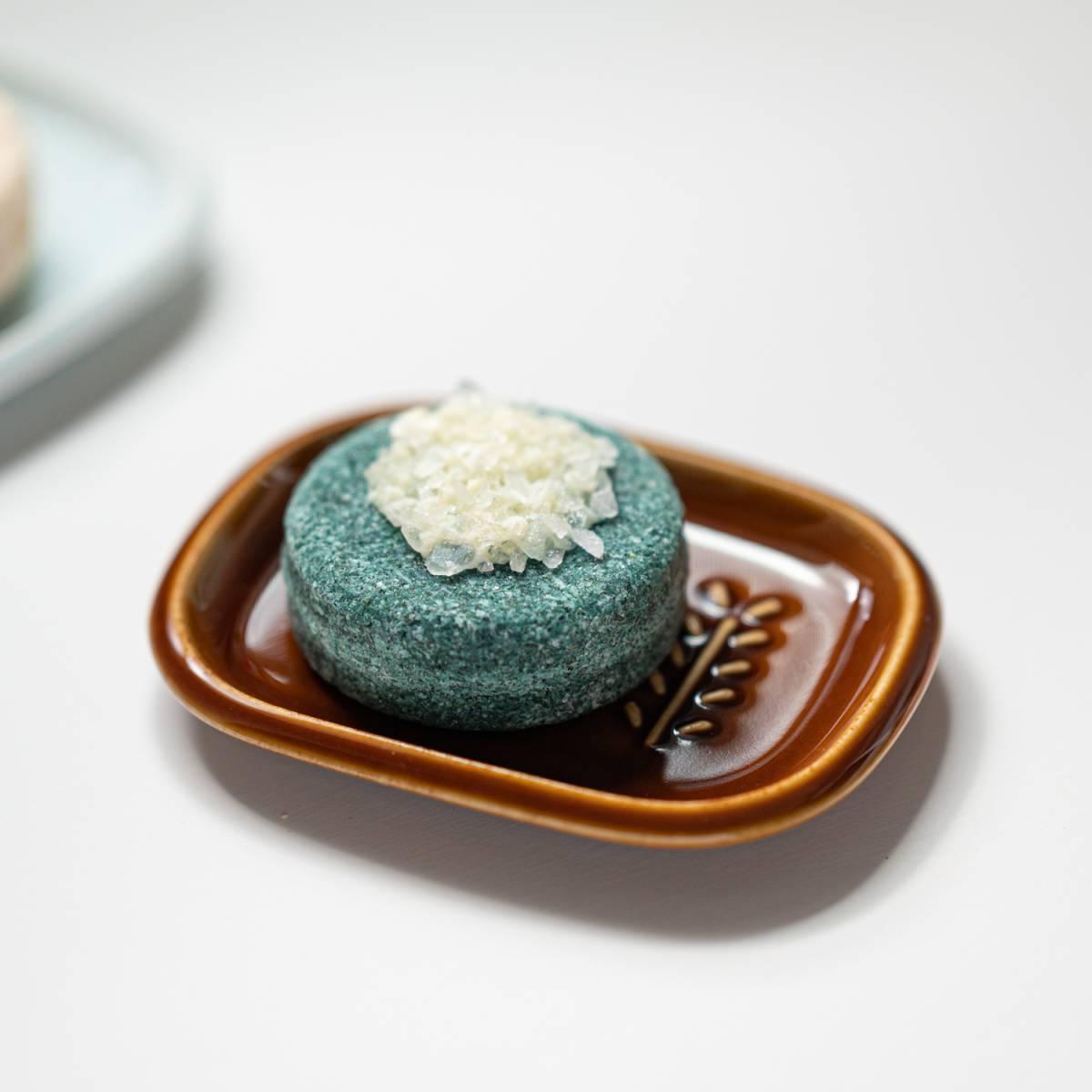 深山(miyama.) crust-クラスト- ソープディッシュ (長方形) 飴釉[美濃焼]