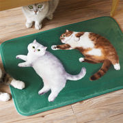 限定販売 MEWJIオリジナル 防滑耐汚 猫 カーペット<猫、ネコ、ねこ>