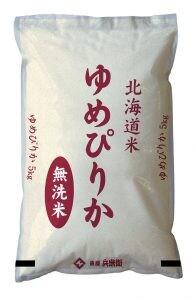 【送料無料】米 お米 無洗米 北海道産ゆめぴりか5kg