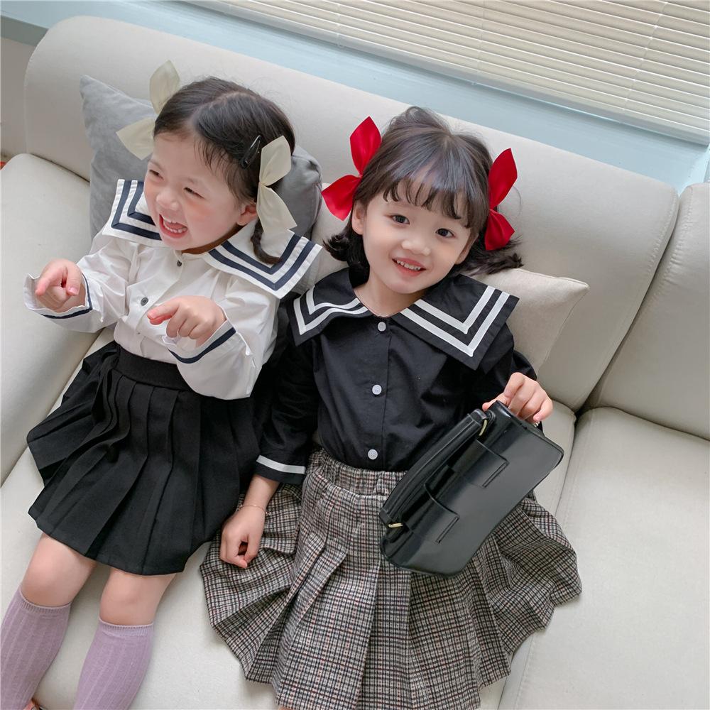 韓国風子供服 韓国ファッション 可愛いブラウスシャツ秋