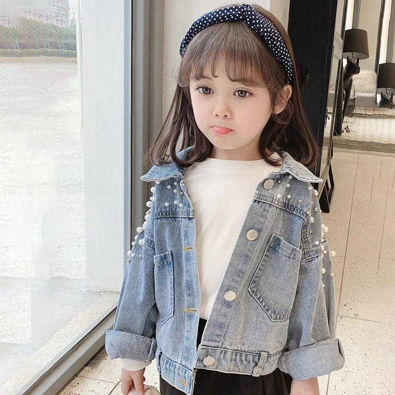 【KID】韓国風子供服 ベビー服  おしゃれ 長袖 デニムコート  帽子付き