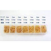 基礎金具ボックス入りマルカン/ニッケルフリー・鍍金色耐久性UP/ネッシー最安値保証/プロ仕様(開く状態)