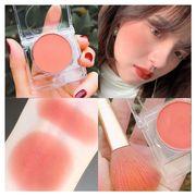ピーチピンクオレンジチーク 立体ハイライトを入れます 裸の化粧ト鉱物粉 長期のナチュラルクリームチーク