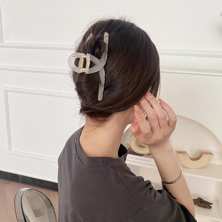 レディース バンスクリップ ヘアアクセサリー シンプル クリップ ヘアピン シンプル 髪留め
