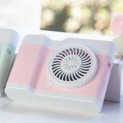 カメラ型 首掛け ミニ扇風機 USB扇風機 強力 卓上 扇風機 両手を解放 卓上扇風機 USB充電式