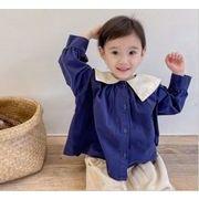2021秋冬新作 韓国 韓国ファッション 韓国子供服  シャツ 子供服  トップス アウター