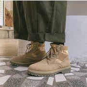 韓国版★ 大人のカジュアルを提案 アウトドア 防風 メンズ 運動 ショートブーツ カジュアル 歩きやすい