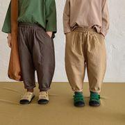 2021新作子供服の韓版春と秋の長ズボン男の子と女の子の赤ちゃん純綿の水洗いズボン