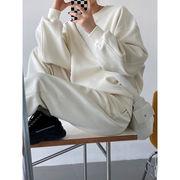 【2021秋冬新作】韓国風 レディース服 エレガント カジュアル スポーツウェア パーかーセットアップ